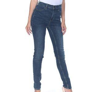 Free People Denim Dark Wash Skinny Jeans